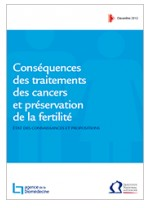 Cancer et prservation de la fertilit: un rapport conjoint de l'INCa et l'Agence de la Biomdecine
