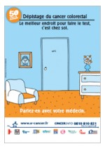 Lancement de l'opration Mars bleu 2013 contre le cancer colorectal