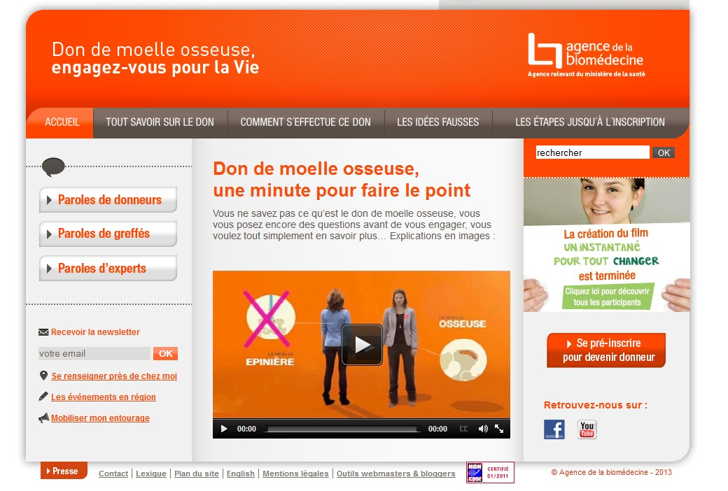 Le site www.dondemoelleosseuse.fr