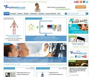 Nouvelle version du site arthrolink dExpanscience