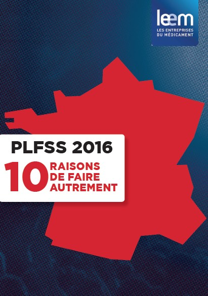 PLFSS 2016 : le Leem alerte sur les 10 indicateurs qui freinent l'innovation pharmaceutique en France