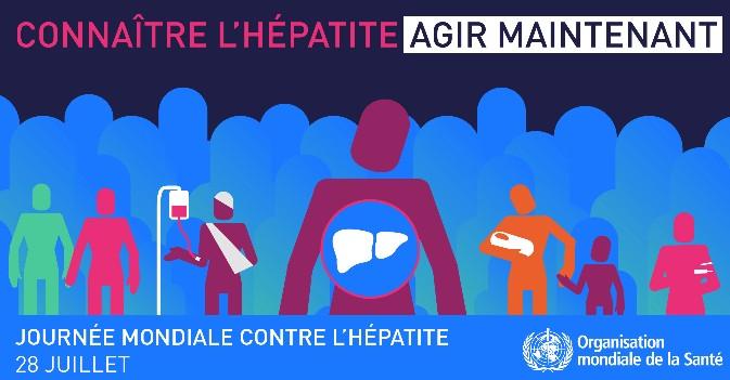 La Journée mondiale contre l'hépatite se déroule le 28 juillet 2016