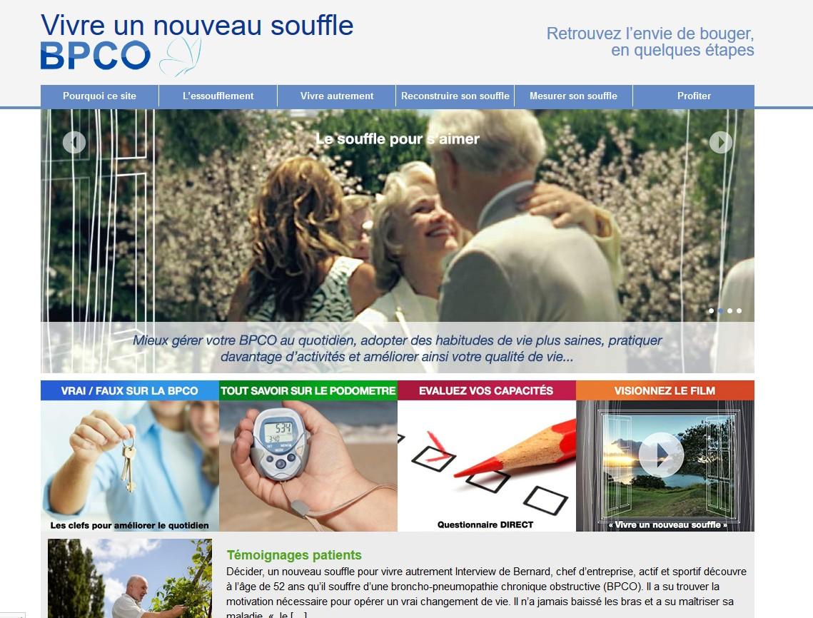Boehringer Ingelheim France lance le site vivreunnouveausouffle.fr