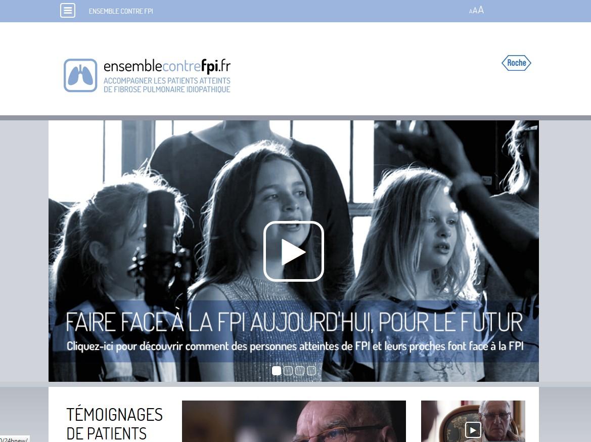 Fibrose pulmonaire idiopathique : Roche lance une campagne de sensibilisation