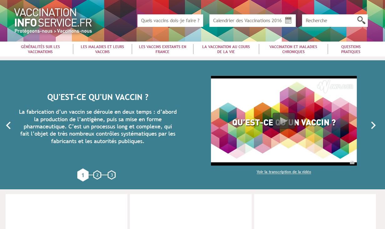 La Semaine européenne de la vaccination se déroule du 23 au 29 avril 2017