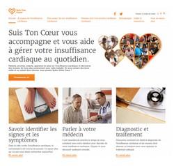 Insuffisance cardiaque : Novartis lance le site web www.suistoncoeur.fr