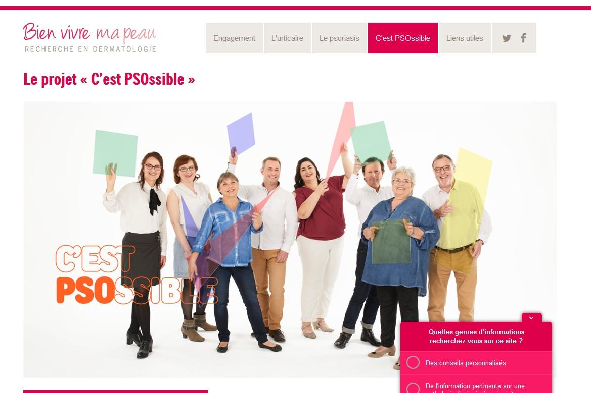 Novartis et France Psoriasis lancent la campagne de sensibilisation « C'est PSOssible ! »