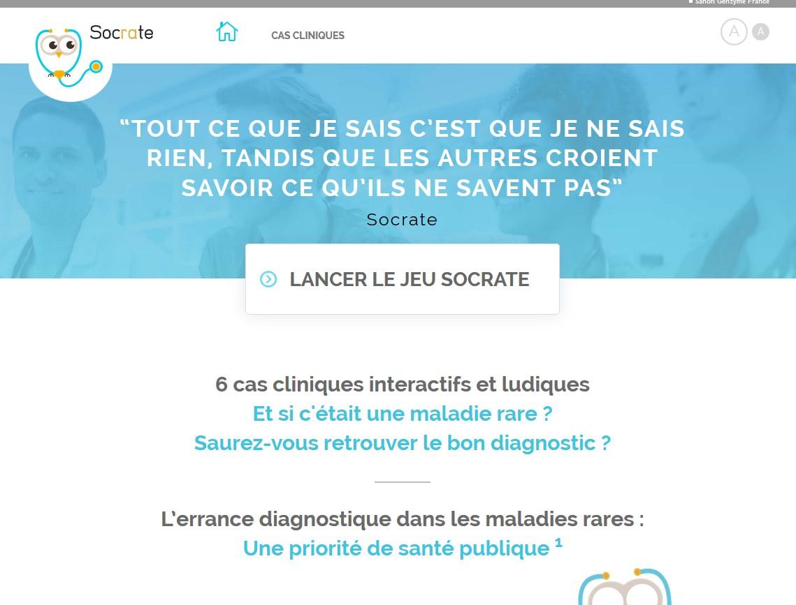Maladies rares : Sanofi Genzyme présente un serious game inédit à l'occasion de Futur en Seine