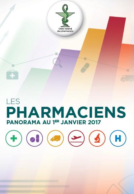 La démographie des pharmaciens au 1er janvier 2017
