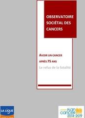 """Cancer chez les 75 ans et plus : """"un accès aux essais thérapeutiques trop limité"""""""