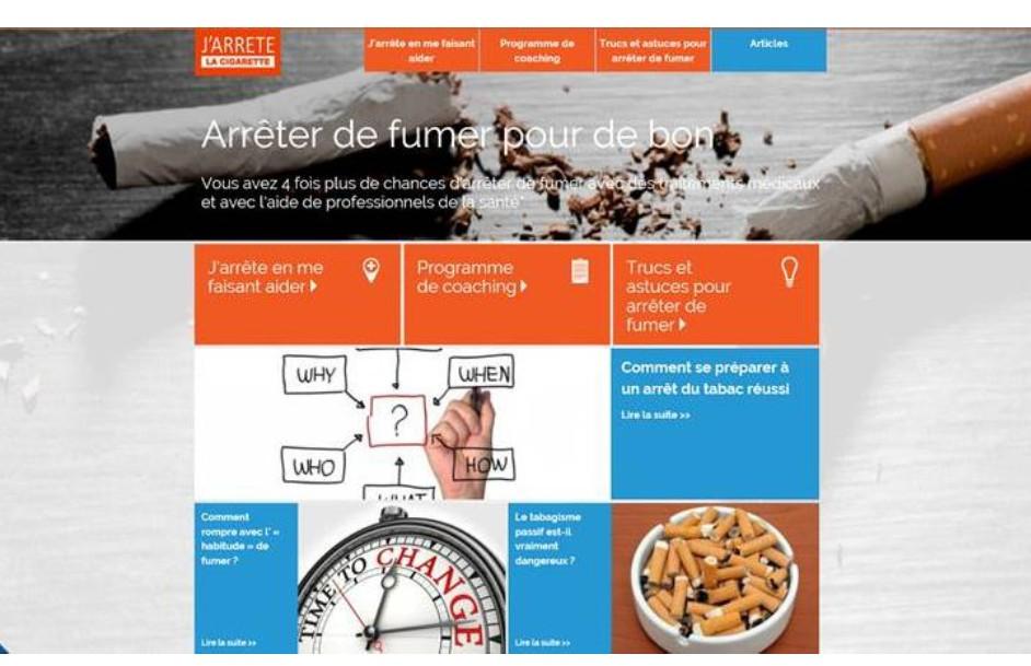 Sevrage tabagique : Pfizer France lance www.jarrete-la-cigarette.fr