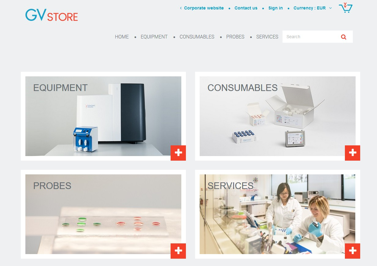 Genomic Vision lance son site d'E-commerce