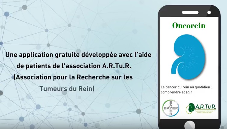 Cancer du rein : Bayer lance l'application Oncorein