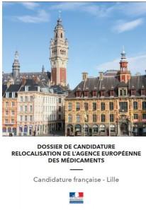 Relocalisation de l'Agence Européenne des Médicaments :la candidature de Lille officiellement déposée