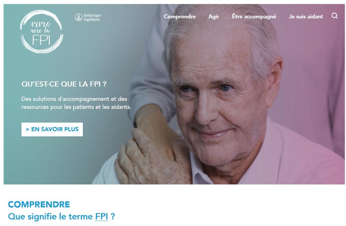 Boehringer Ingelheim France lance le site web « Vivre avec la FPI »