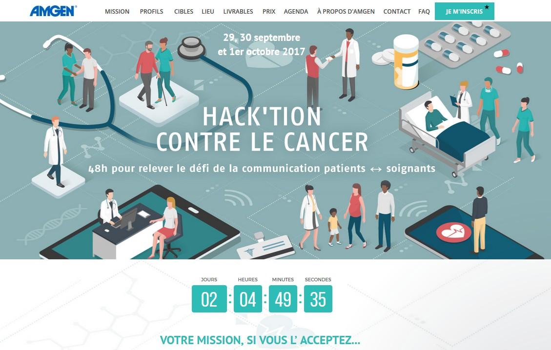 u00bb amgen france lance son premier hackathon en canc u00e9rologie