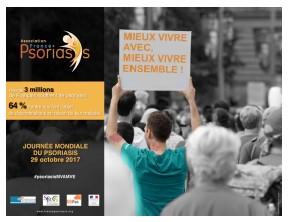 14ème Journée Mondiale du Psoriasis, le 29 octobre 2017