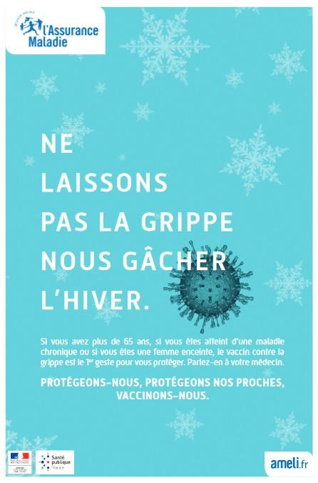 Grippe saisonnière : lancement de la campagne de vaccination 2017-2018