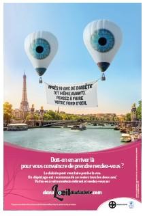 Bayer lance la campagne « Dans l'oeil du diabète »