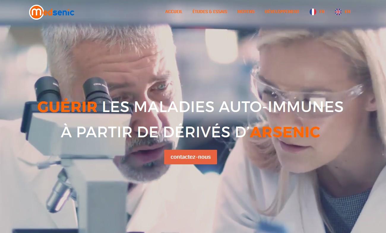 Maladies auto-immunes : Medsenic lève 2 millions d'euros