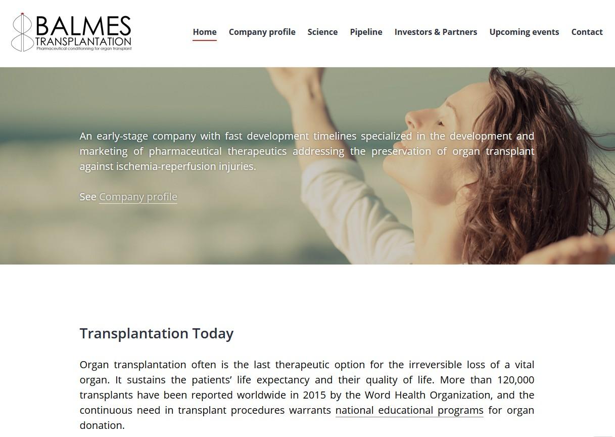 Balmes Transplantation réalise une levée d'amorçage de 700 000 euros