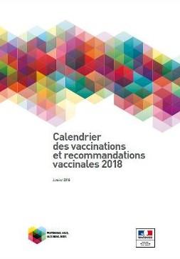 Le calendrier des vaccinations 2018 rendu public