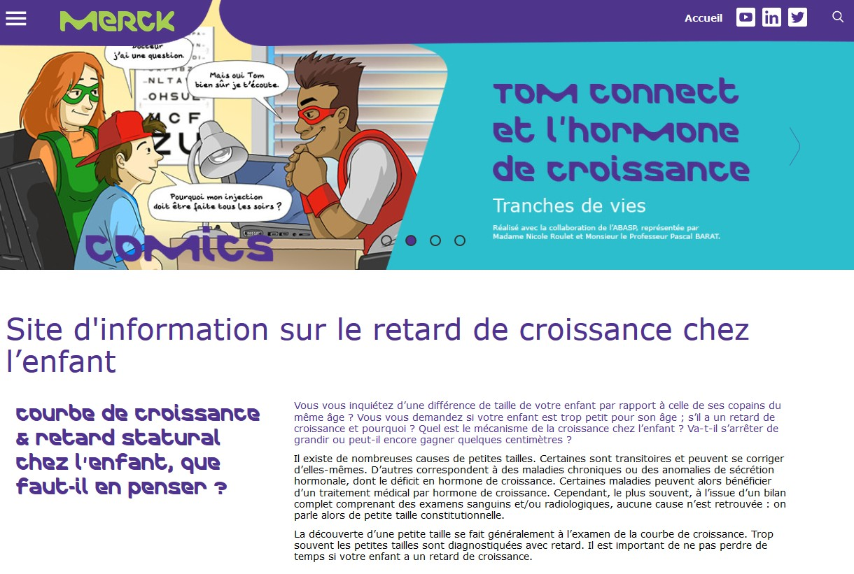 Merck lance le site Croissance-online.fr