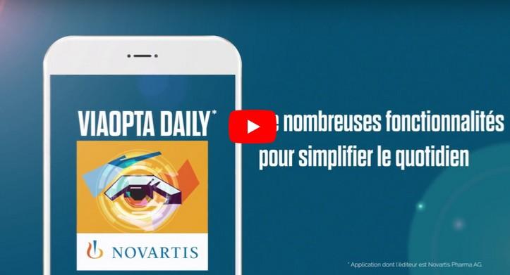 Troubles de la vision : Novartis lance deux nouvelles applications mobiles