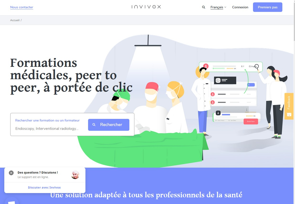 Le site d'Invivox