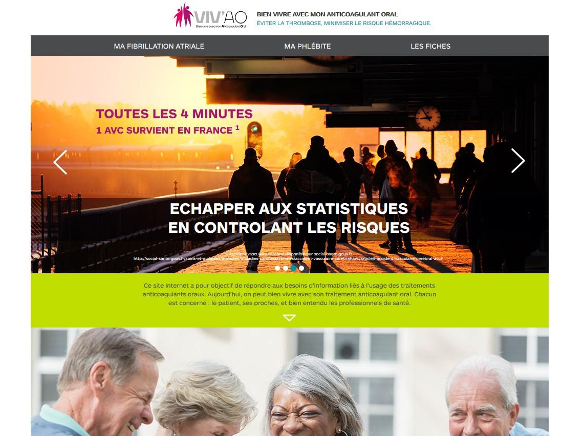 L'alliance BMS-Pfizer met en ligne le site monanticoagulant.fr
