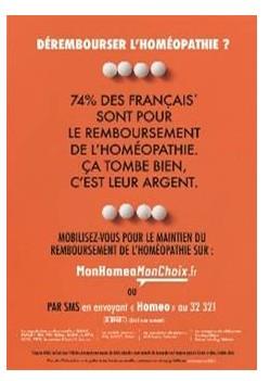 Homéopathie : une campagne pour le maintien du remboursement