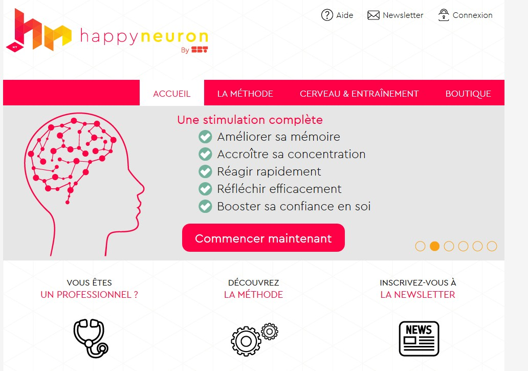 Le site de Happyneuron