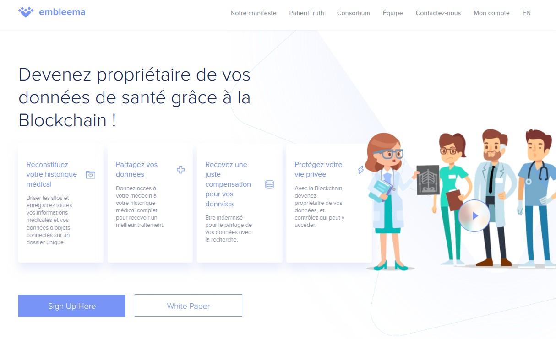 Cancer : la Blockchain santé d'Embleema primée au Datathon du laboratoire Janssen