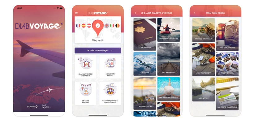 Sanofi lance une application mobile pour aider à gérer son diabète en voyage