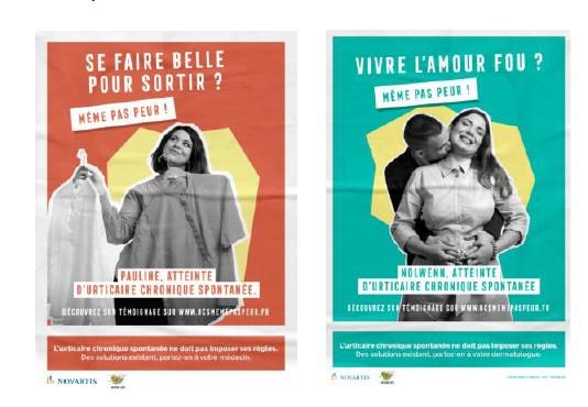 Urticaire chronique spontanée : Novartis lance une campagne de sensibilisation
