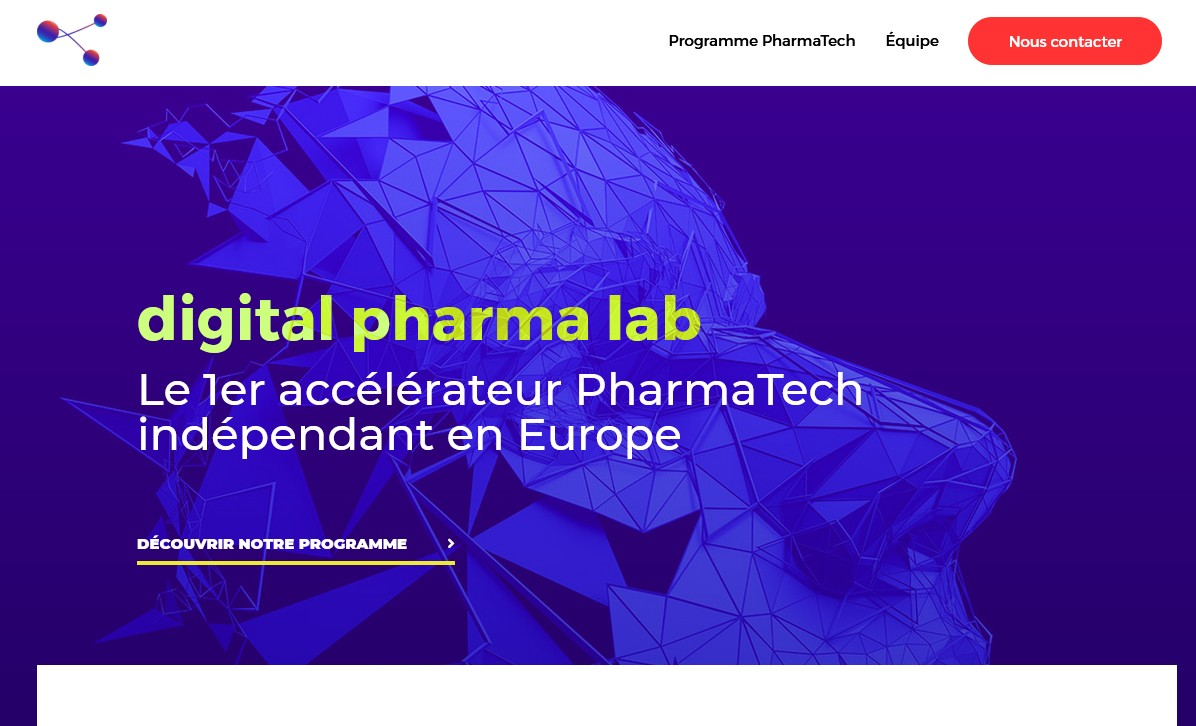 Le site de Digital Pharma Lab