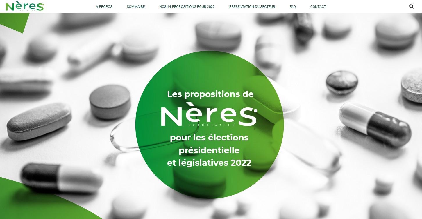 Automédication : NèreS lance sa plateforme de propositions en prévision des élections présidentielle de 2022